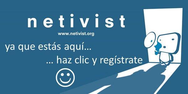 registrate a netivist