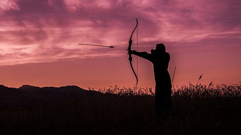 los dos cazadores