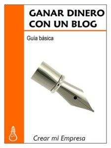 Portada libro ganar dinero con un blog
