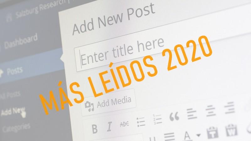 artículos más leídos 2020